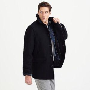 NWT J.Crew Slim University Coat with Thinsulate